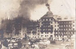 ITALIE 1910 INCENDIE KARERSEE HOTEL - Alberghi & Ristoranti