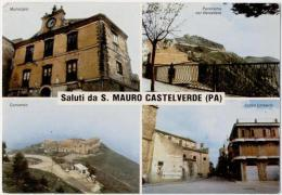 SAN MAURO CASTELVERDE, VEDUTINE E SALUTI, FINESTRELLE   **** - Palermo