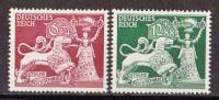 Ro_ Deutsches Reich Mi.Nr.  816 - 817 Postfrisch MNH - Allemagne