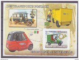 0564 Comores 2008 Postvervoer Posttransportation UPU S/S MNH Imperf - Post