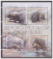 0565 Burundi 2012 Stekelvarken Porcupine S/S MNH - Timbres