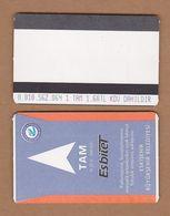 AC - SUBWAY MULTIPLE RIDE METROCARD, BUS CARD #10 ESKISEHIR, TURKEY PUBLIC TRANSPORT - Transportation Tickets