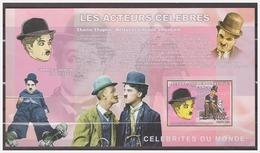 0592 Congo 2006 Acteur Charlie Chaplin S/S MNH Imperf - Acteurs