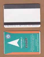 AC - SUBWAY MULTIPLE RIDE METROCARD, BUS CARD #12 ESKISEHIR, TURKEY PUBLIC TRANSPORT - Titres De Transport
