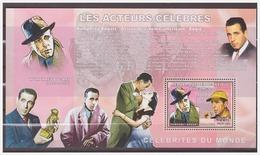 0594 Congo 2006 Acteur Humphrey Bogart S/S MNH - Acteurs
