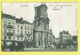 * Sint Joost Ten Node - Saint Josse (Bruxelles) * (Wilhelm Hoffmann Dresde, Nr 3214) Place De St Josse, Paardentram TOP - St-Josse-ten-Noode - St-Joost-ten-Node