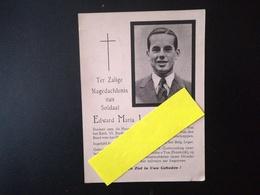 STUDENT AAN DE HOOGESCHOOL VAN LEUVEN SOLDAAT OVERLEDEN TE LAROCHE  1940 MILITARIA OORLOG  1939 -  1945 - Religione & Esoterismo