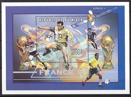 Soccer World Cup 1998 - NIGER - S/S MNH** - Coupe Du Monde