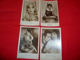 4 Cartoline Bebe Daniels Attrice John Boles  * - Donne Celebri