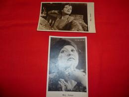 2 Cartoline Mary Duncan Attrice  * - Donne Celebri