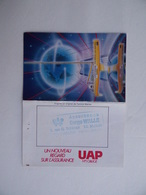 CALENDRIER De POCHE 1987 UAP Assurances Serge WALLE 4 Rue G. SCHIEVER à AVALLON 89 - Calendars