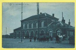 * Zottegem - Sotteghem * (SBP, Nr 13) La Gare, Bahnhof, Railway Station, Très Animée, Cheval, Tram, Vicinal, TOP Unique - Zottegem