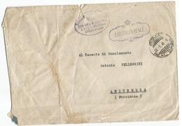. Luogotenenza Carteggio Reale Aiutante Campo SaR Luogotenente Gen.del Regno Busta Roma Real Casa 23gen46 X Anitrella FR - 5. 1944-46 Lieutenance & Umberto II