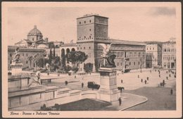 Piazza E Palazzo Venezia, Roma, 1941 - Serta Cartolina - Roma (Rome)