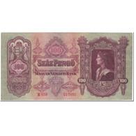 Billet, Hongrie, 100 Pengö, 1930, 1930-07-01, KM:98, SUP - Hongrie