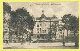 * Sint Joost Ten Node - Saint Josse (Bruxelles) * (Nels, Série 1, Nr 90) Maison Communale, Gemeentehuis, Parc, Rare, Old - St-Josse-ten-Noode - St-Joost-ten-Node
