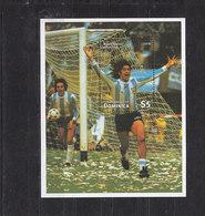 Soccer World Cup 1998 - DOMINICA - S/S MNH** - Wereldkampioenschap
