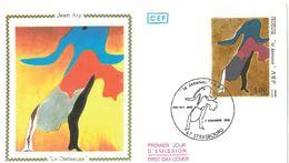 FDC Tableau Jean Arp La Danseuse (67 Strasbourg 11/1986) - FDC
