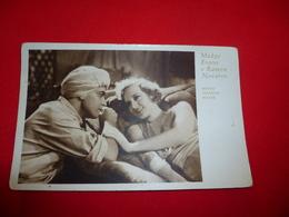 Cartolina Madge Evans E Ramon Novarro Attori * - Donne Celebri