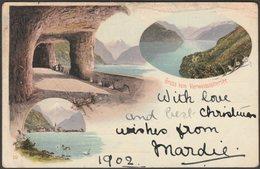 Gruss Vom Vierwaldstättersee, 1902 - AK - Switzerland