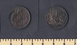 Trinidad & Tobago 5 Cents 1978 - Trinité & Tobago