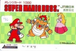 NINTENDO SUPER MARIO BROS. (90) - Jeux