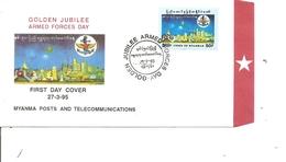 Myanmar (  FDC De 1995 à Voir) - Myanmar (Birmanie 1948-...)