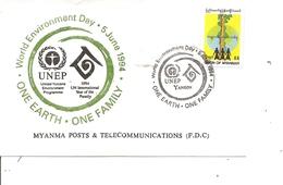 Myanmar (  FDC De 1994 à Voir) - Myanmar (Birmanie 1948-...)