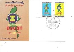 Myanmar (  FDC De 1997 à Voir) - Myanmar (Birmanie 1948-...)