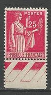 TYPE PAIX N° 370 Gom D'origine NEUF** LUXE SANS CHARNIERE / MNH - 1932-39 Paix