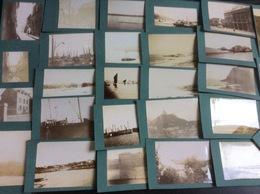 Lot De 73 Photographies Anciennes Collées Sur Carton (dimension Du Carton : 9X14 Cm), Sans Date (début Du Siècle Dernier - Places