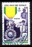 Cote Des Somalis  N° 284 Oblitéré Cote 11,00 Euros - Oblitérés