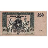 Billet, Russie, 250 Rubles, 1918, Undated (1918), KM:S414c, TTB - Russie