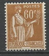 TYPE PAIX N° 364 Gom D'origine NEUF** LUXE SANS CHARNIERE / MNH - 1932-39 Paix