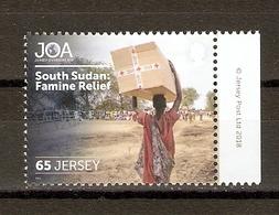 Jersey 2018 - JOA - Jersey Overseas Aid - South Sudan : Famine Relief - MNH - BDF - Jersey