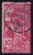 Switzerland / Schweiz / Suisse : Stempel RICI-KULM Auf 1900 25 Jahre UPU 10 C Rose Michel 72 I - Oblitérés