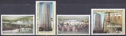 Elfenbeinküste Ivory Coast Cote D'Ivoire 1982 Post Postamt Architektur Architecture Bauwerke Buildings, Mi. 752-5 ** - Côte D'Ivoire (1960-...)