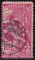 Switzerland / Schweiz / Suisse : Stempel AARBURG Auf 1900 25 Jahre UPU 10 C Rose Michel 72 I - Oblitérés