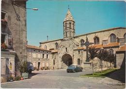 SAUGUES Eglise Paroissiale ( Automobile Citroen DS ) ( Publicité Banania ) - Saugues