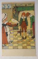 Kinder, Frauen, Mode, Kuchen,   1914, B. Hilsch   ♥  - Kinder