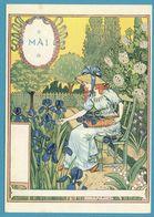Eugène GRASSET - La Belle Jardinière - Mai - Malerei & Gemälde