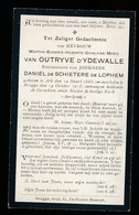 ADEL NOBLESSE   MARTHA CAN OUTRYVE D'YDEWALLE  ATH 1883  BRUGGE 1915 - Overlijden