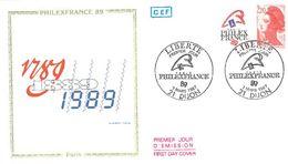 FDC Philex France 89 Bicentenaire Liberté (75 Paris 07/03/1987) - FDC