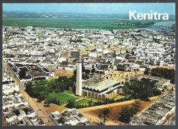 CP Photo ITTAH 214-Maroc- KENITRA- Vue Aérienne : La Grande Mosquée-Aerial View Of The Great Mosque - Islam