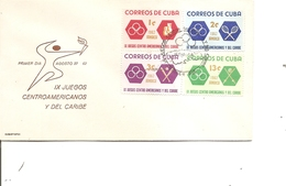 Cuba ( FDC De 1962 à Voir) - FDC