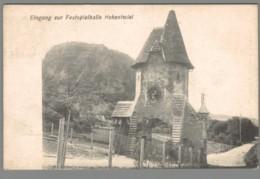 CPA Allemagne - Eingang Sur Festspielhalle Hohentwiel - Allemagne