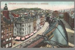 CPA Allemagne - Elberfeld - Schwebebahnhof Doppersberg Stadttheater - Wuppertal