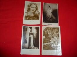 4 Cartoline Brigitte Helm Attrice Georg Alexander * - Donne Celebri