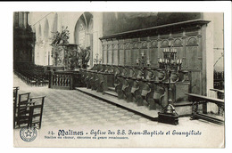CPA - Carte Postale -Belgique - Malines - Eglise Des S.S. Jean Baptiste Et Evangeliste -S4656 - Mechelen
