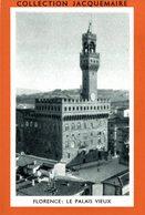 COLLECTION JACQUEMAIRE  Florence Le Palais Vieux - Sammelbilderalben & Katalogue